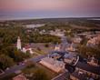 Aerial of Sandy Hook NJ