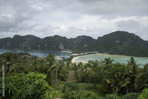 Viewpoint at Phi Phi island, Thailand Poster