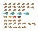 Warthog Game Animation Sprite - 163481400