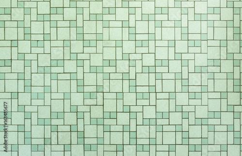 Vintage Seamless 1950s Bathroom Tile Background
