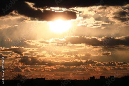 Papiers peints Morning Glory sunset