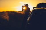 Nature Photographer in the Field