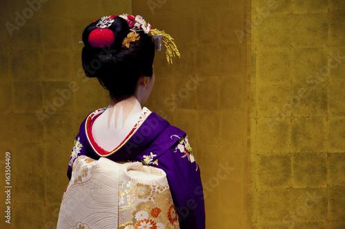 Papiers peints Kyoto Unidentified japanese geisha