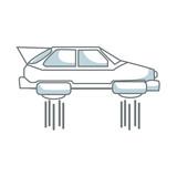 hover car future technology future transport - 163531235