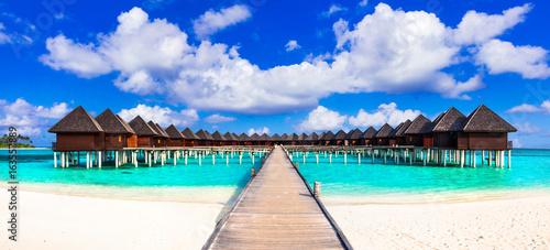 Maldives, luxury tropical holidays in water villas