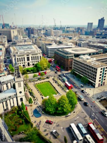 Tilt Shift London City View