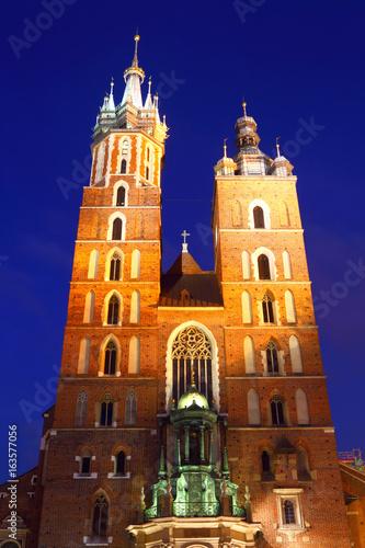 St. Mary's Church.Krakow.Poland.