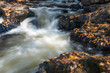Water stream in fall