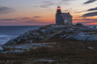 Sunset on the south west coast, Rose Blanch Lighthouse Historic Site, Newfoundland & Labrador