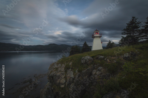 Twilight,  Woody Point, Gros Morne National Park, Newfoundland & Labrador Poster