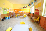 classroom of a daycare center