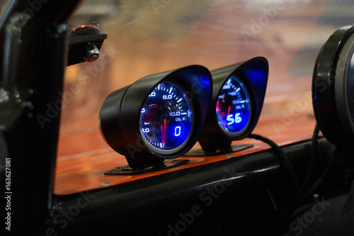 Speedometer of buggy Poster