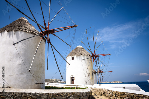 Poster Mykonos Windmills
