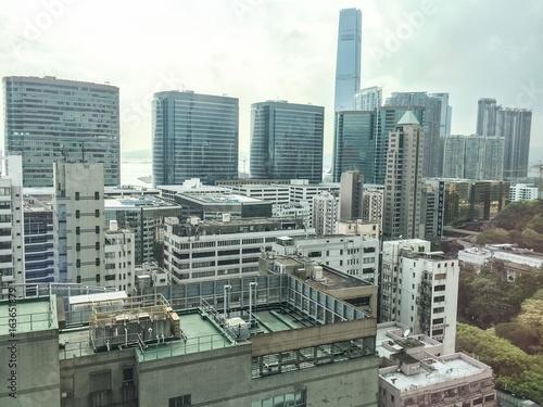 Skyscrapers in Kowloon Hong Kong China