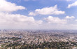 Los Angeles, the business center of California. City panorama, aerial view