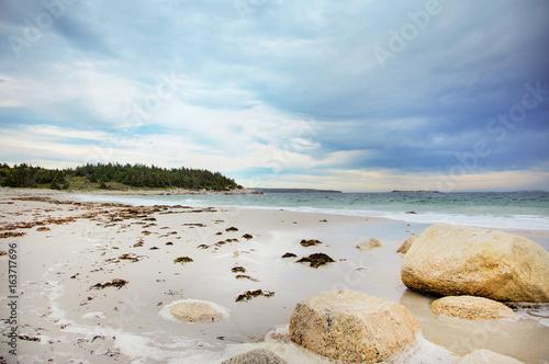 Crystal Crescent Beach in Nova Scotia.