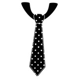 Tie male fashion icon vector illustration graphic design