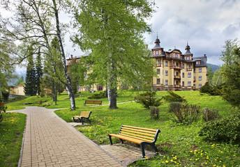View of Stary Smokovec. Slovakia