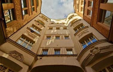 Brno - zajímavý dům (Česká republika)