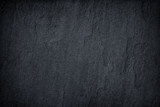 Dark grey black slate background or texture. - 163766625
