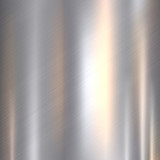 Metal, stainless steel texture background with reflection - 163776040