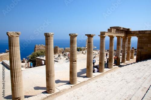 Acropole Lindos Grèce