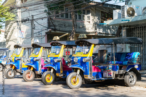 tuk tuk thailand is local taxi thai is Favorite activities  and attraction Poster