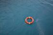 lifebelt at sea