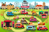Food Trucks Festival Map