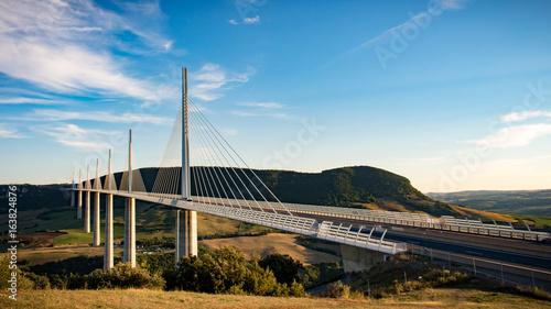 Papiers peints Ponts viaduc de millau