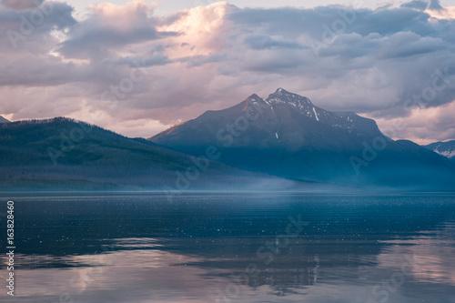 Mountain Scene Glacier National Park