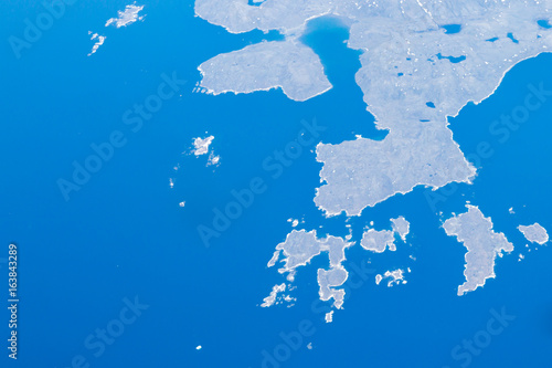 Aerial View of Remote Canadian Landscape