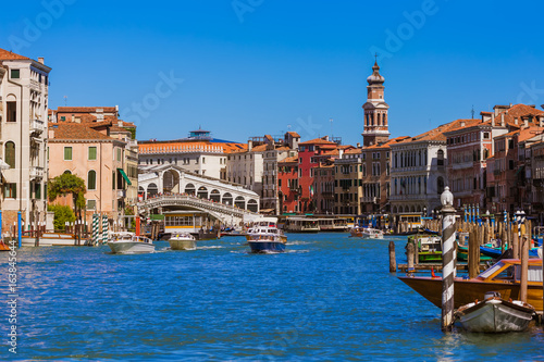 Poster Grand Canal in Venice Italy