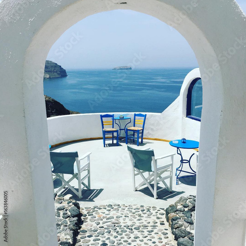 Keuken foto achterwand Santorini THE PLACE TO BE