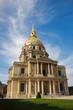 Invalides cathedral at Paris France