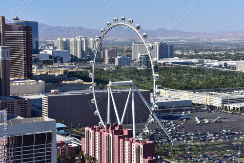 Fotobehang Las Vegas Las Vegas, Nevada - USA - June 05,2017 - Ferris Wheel Las Vegas