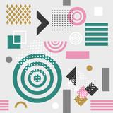 Trendy bez szwu geometryczny wzór, ilustracji wektorowych