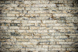 Background texture of old vintage brick wall