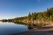 Sunrise at Nutimik Lake in the scenic Whiteshell area of Manitoba