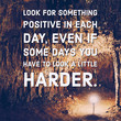 Inspirational and motivation quote on blurred lighting background with vintage filter