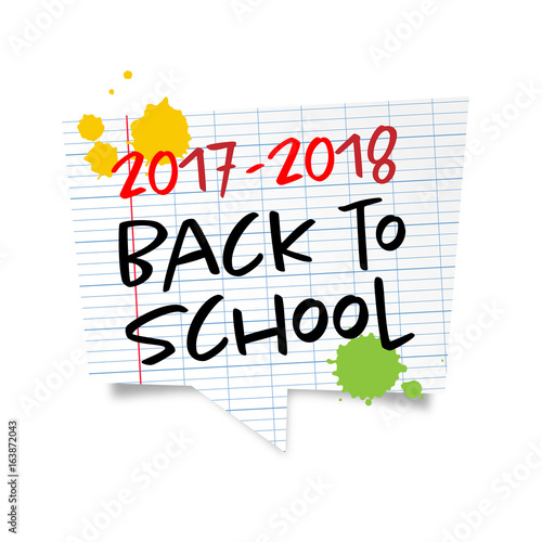 2017 - 2018 / Back to school