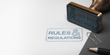 Rules and Regulations Background - 163880686