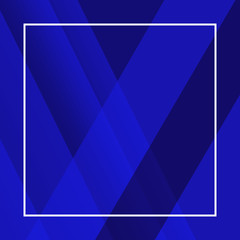 Incredible texture geometric shape. Mystical symbol, beautiful abstract decoration. Perfect background with space. Incredible shades of all blues. Abstract decorative pattern.