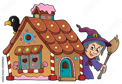 Gingerbread house theme image 2