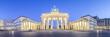 Brandenburger Tor und Pariser Platz in Berlin