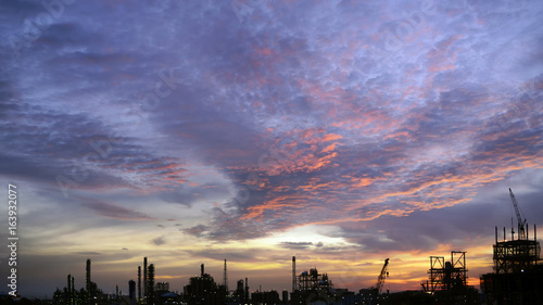 Fotobehang Thailand Industry background for your work .
