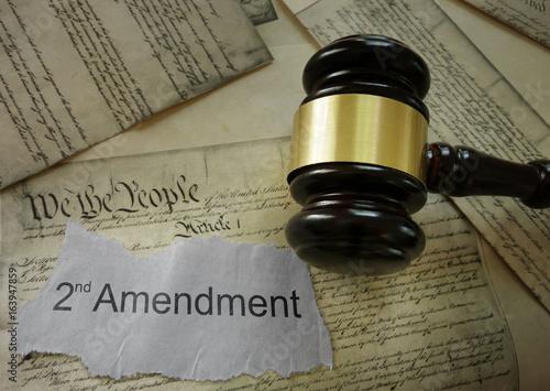 Second Amendment concept Poster