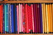 haberdashery shop choice of fabric material at fabric market