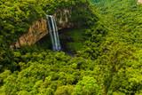 Fototapety Waterfall in Caracol Park in Rio Grande do Sul, Brazil