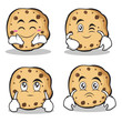 sweet cookies character cartoon set collection - 163995664